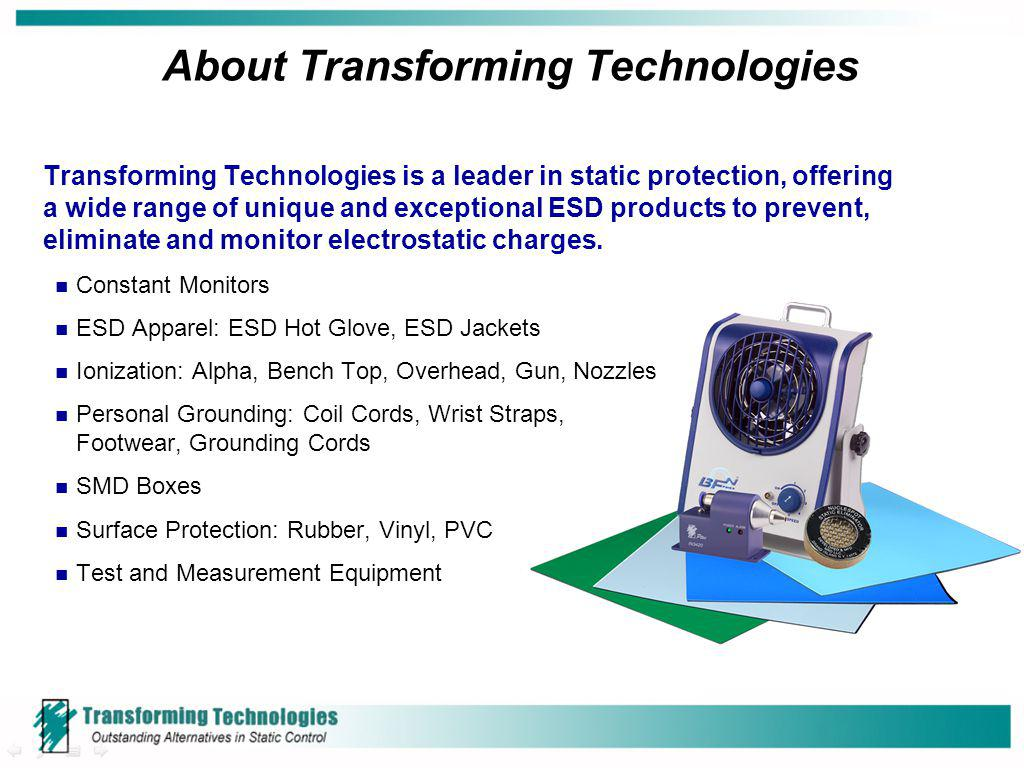 About Transforming Technologies
