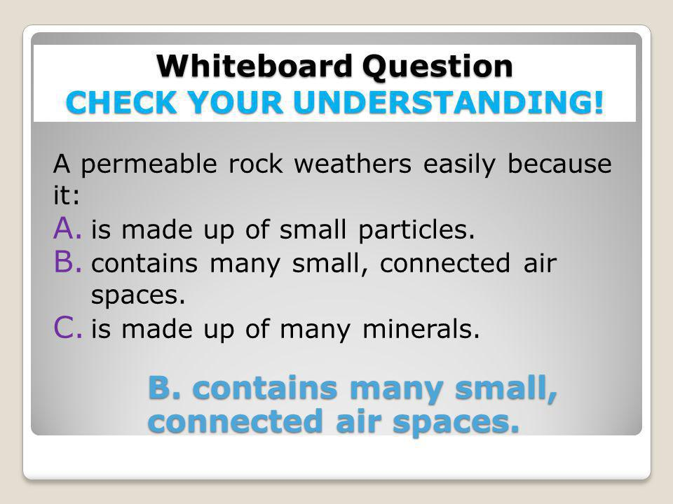 Whiteboard Question CHECK YOUR UNDERSTANDING!