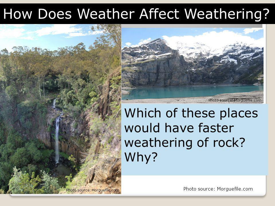 How Does Weather Affect Weathering
