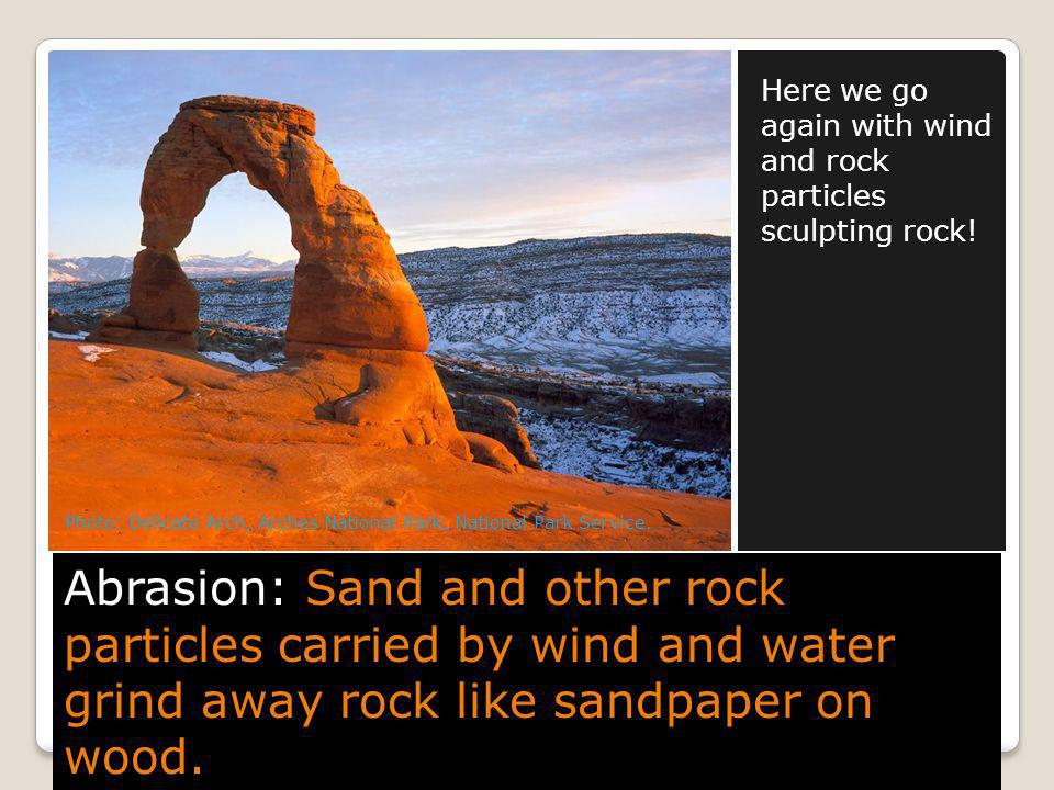 Here we go again with wind and rock particles sculpting rock!