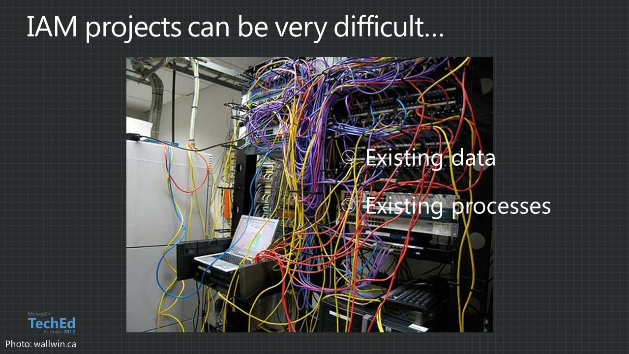 IAM projects can be very difficult…