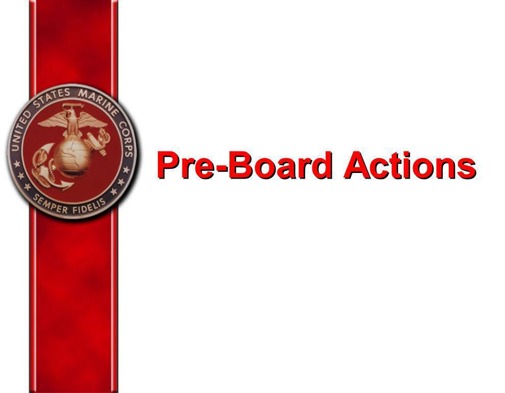 Pre-Board Actions Let's discuss some areas you should address prior to your board convening….