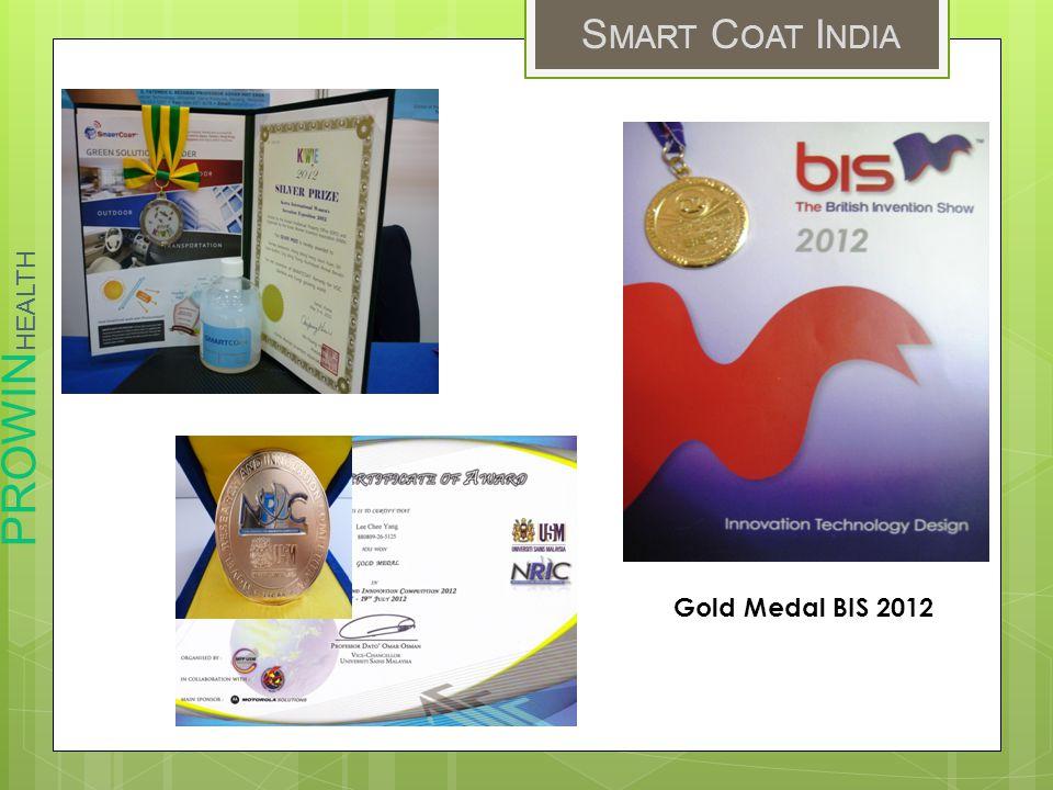 Gold Medal BIS 2012