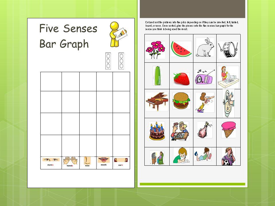 Five Senses Bar Graph