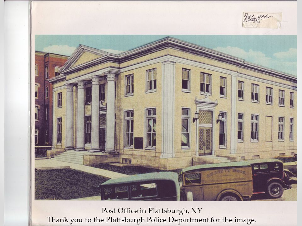 Post Office in Plattsburgh, NY