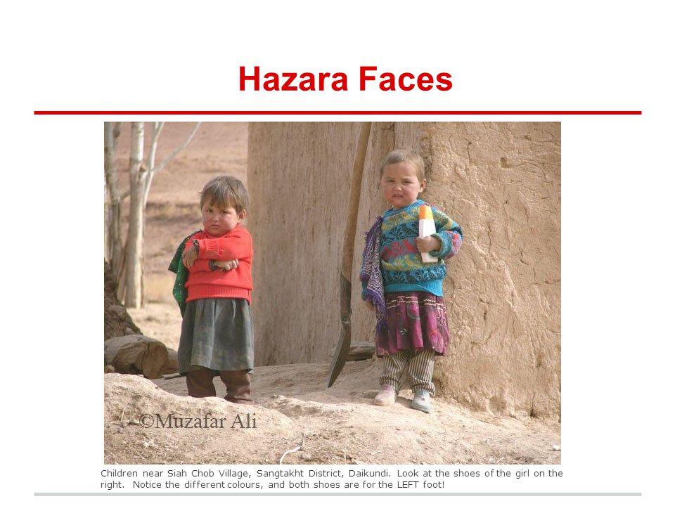 Hazara Faces