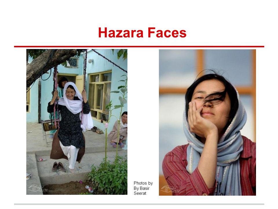 Hazara Faces Photos by By Basir Seerat