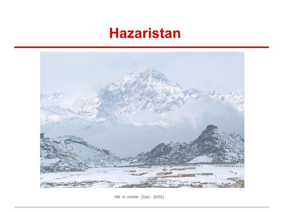 Hazaristan Nili in winter (Dec. 2009)