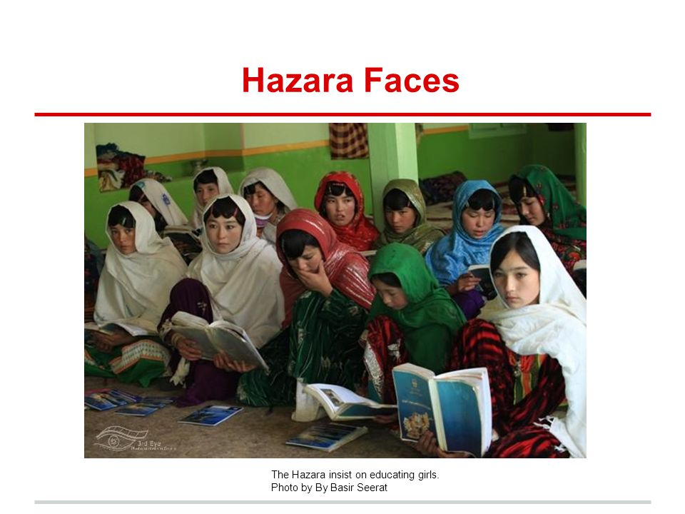 Hazara Faces The Hazara insist on educating girls. Photo by By Basir Seerat