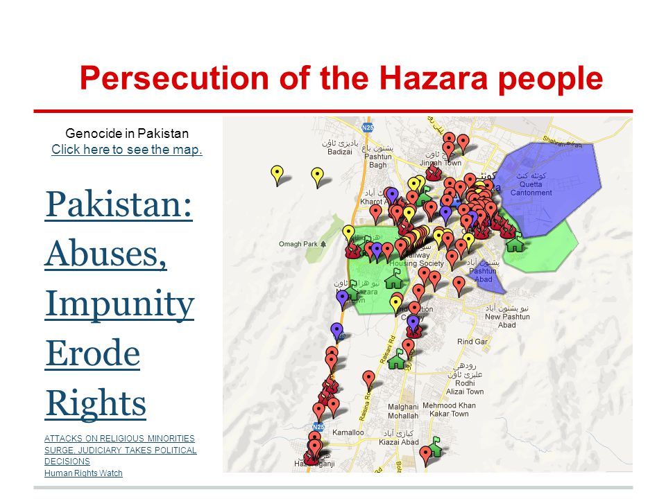 Persecution of the Hazara people