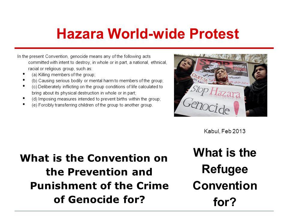 Hazara World-wide Protest