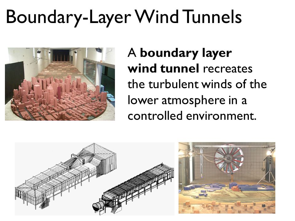 Boundary-Layer Wind Tunnels