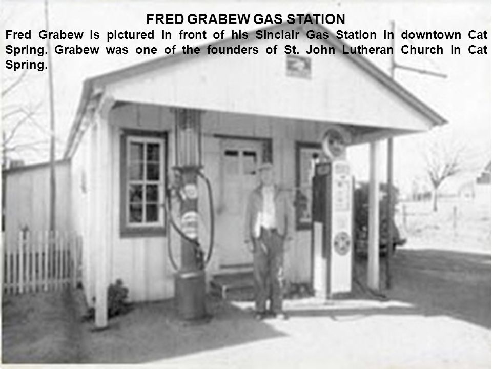 FRED GRABEW GAS STATION