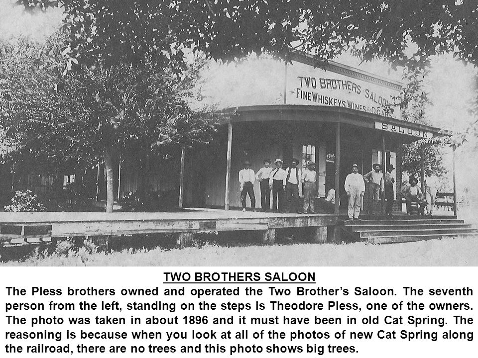 TWO BROTHERS SALOON