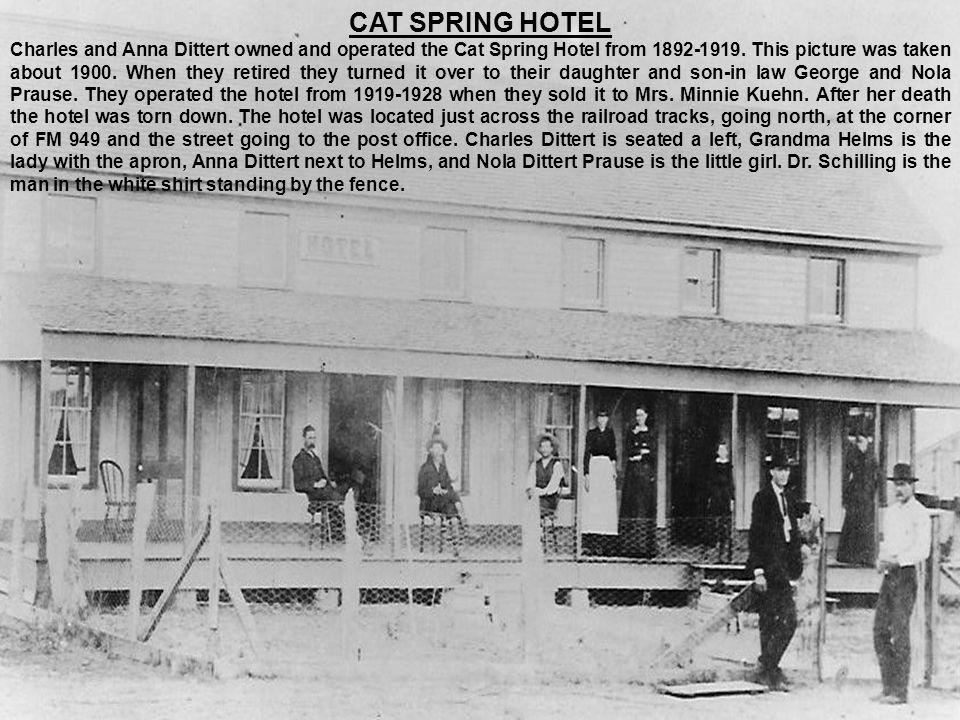CAT SPRING HOTEL
