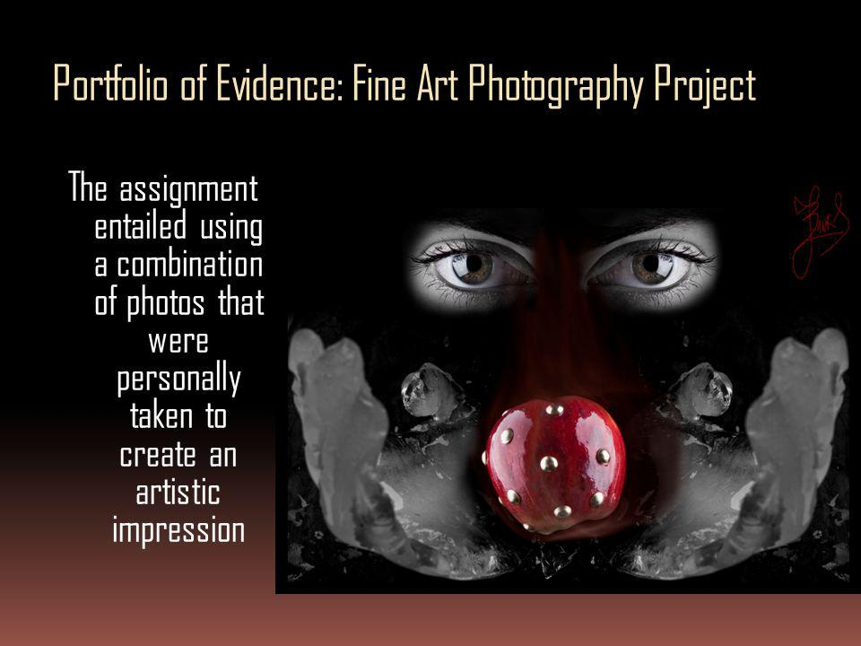 Portfolio of Evidence: Fine Art Photography Project