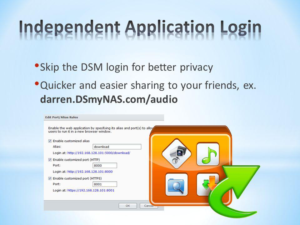 Independent Application Login