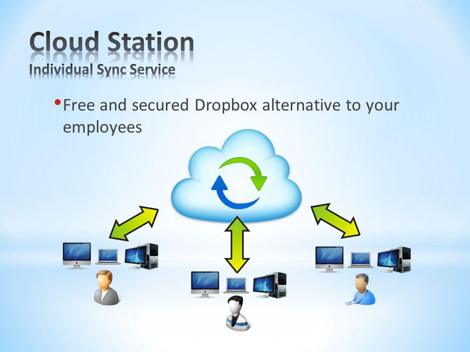 Cloud Station Individual Sync Service