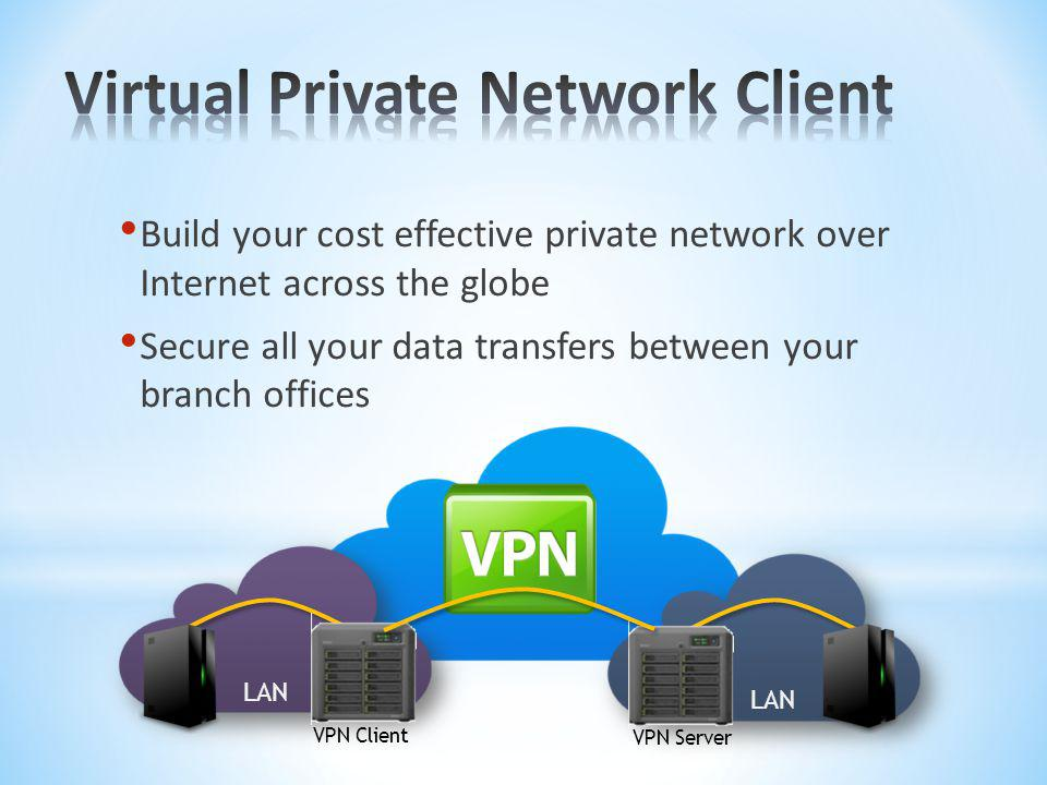 Virtual Private Network Client