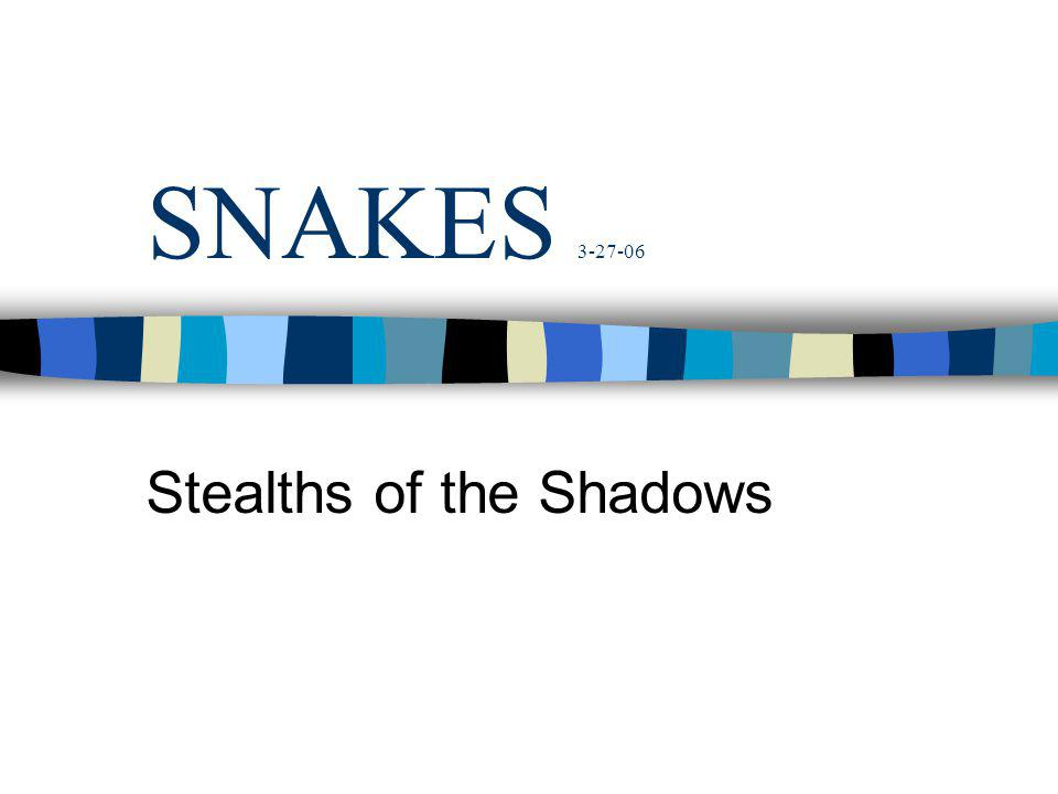Stealths of the Shadows