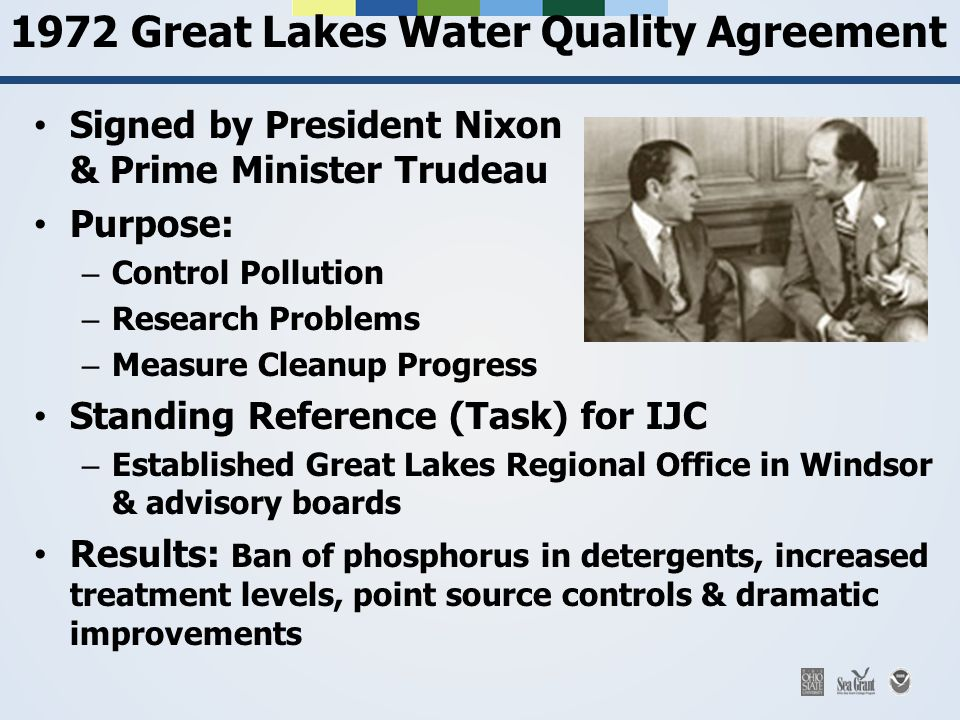 1972 Great Lakes Water Quality Agreement