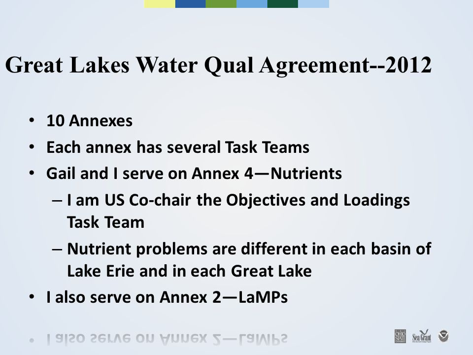 Great Lakes Water Qual Agreement--2012