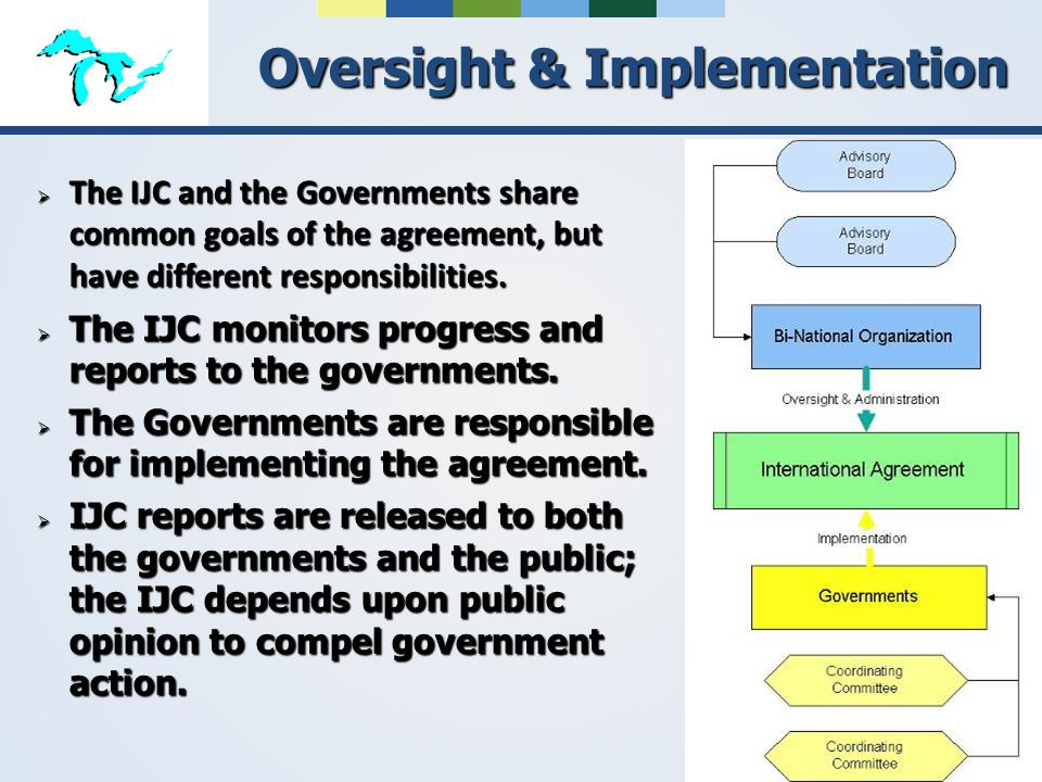 Oversight & Implementation