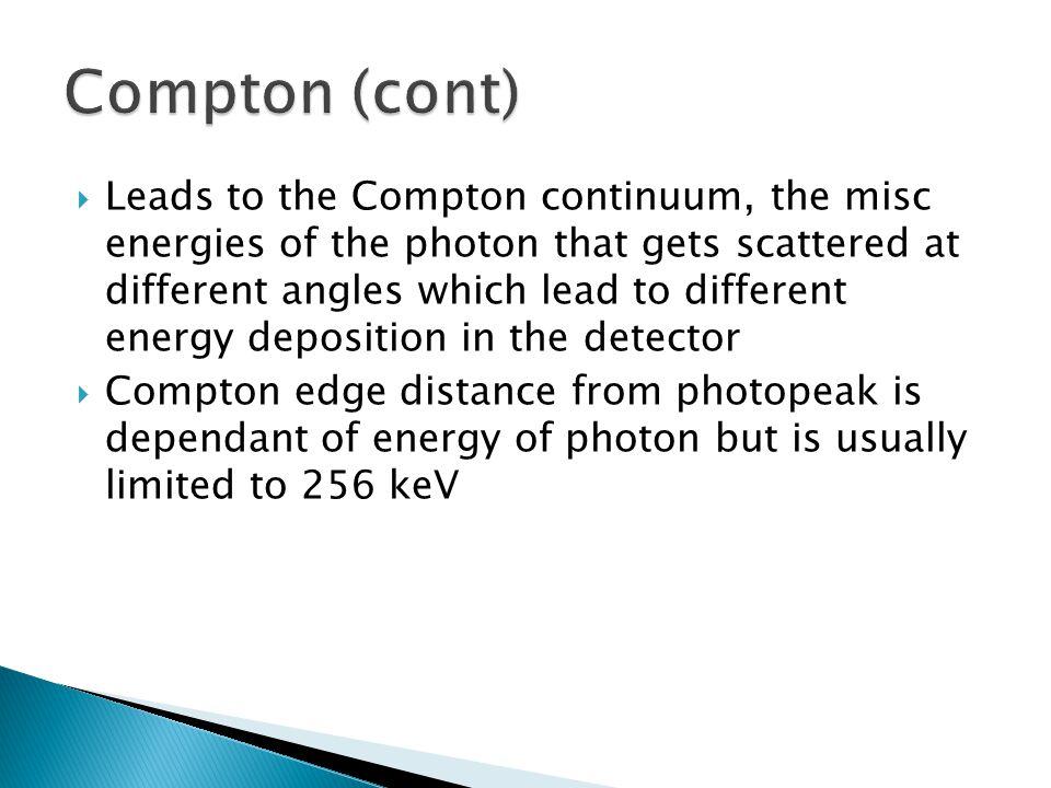 Compton (cont)