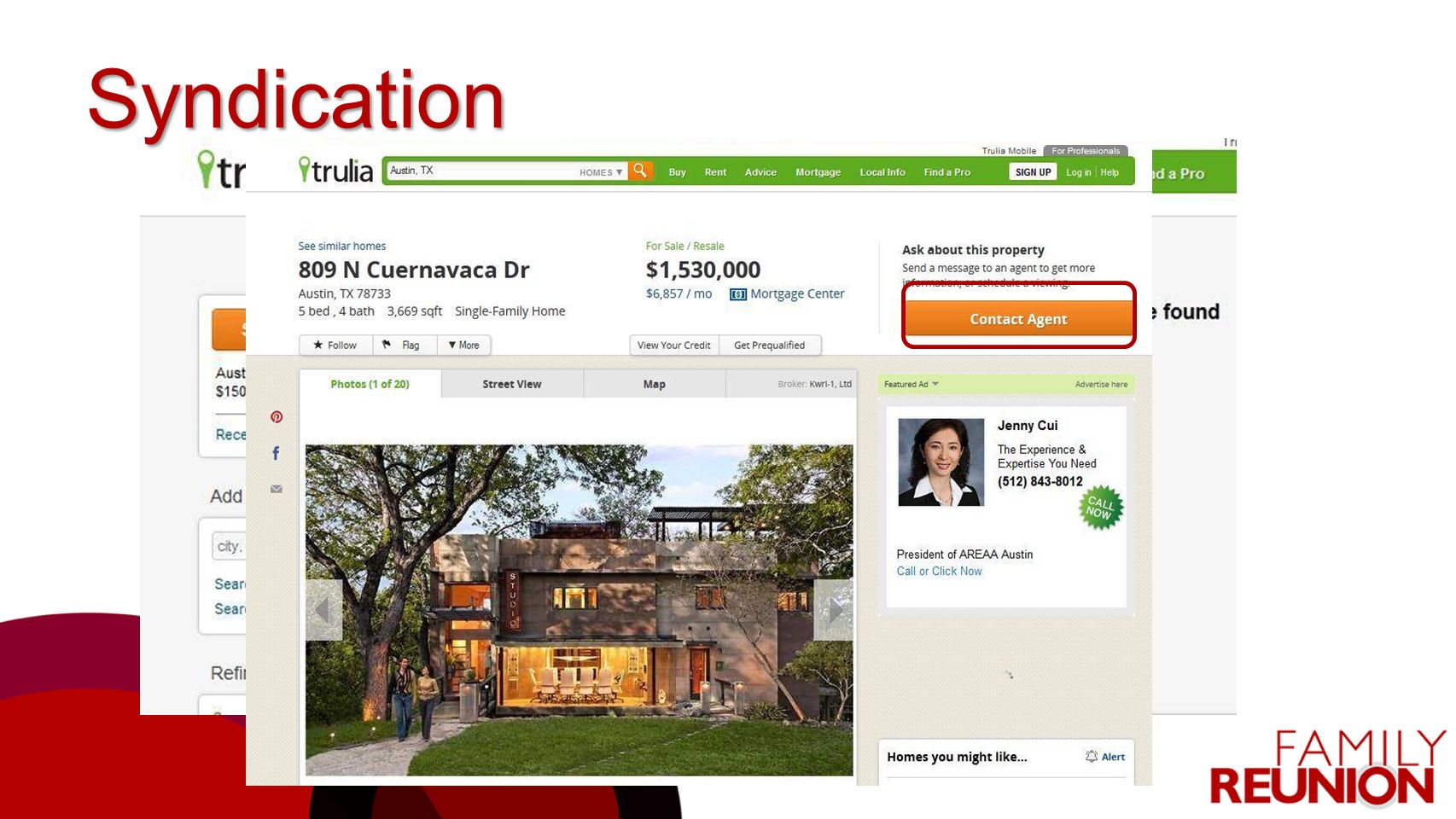 Syndication KWLS is the #1 tool for helping you market your listings and generate buyer leads.