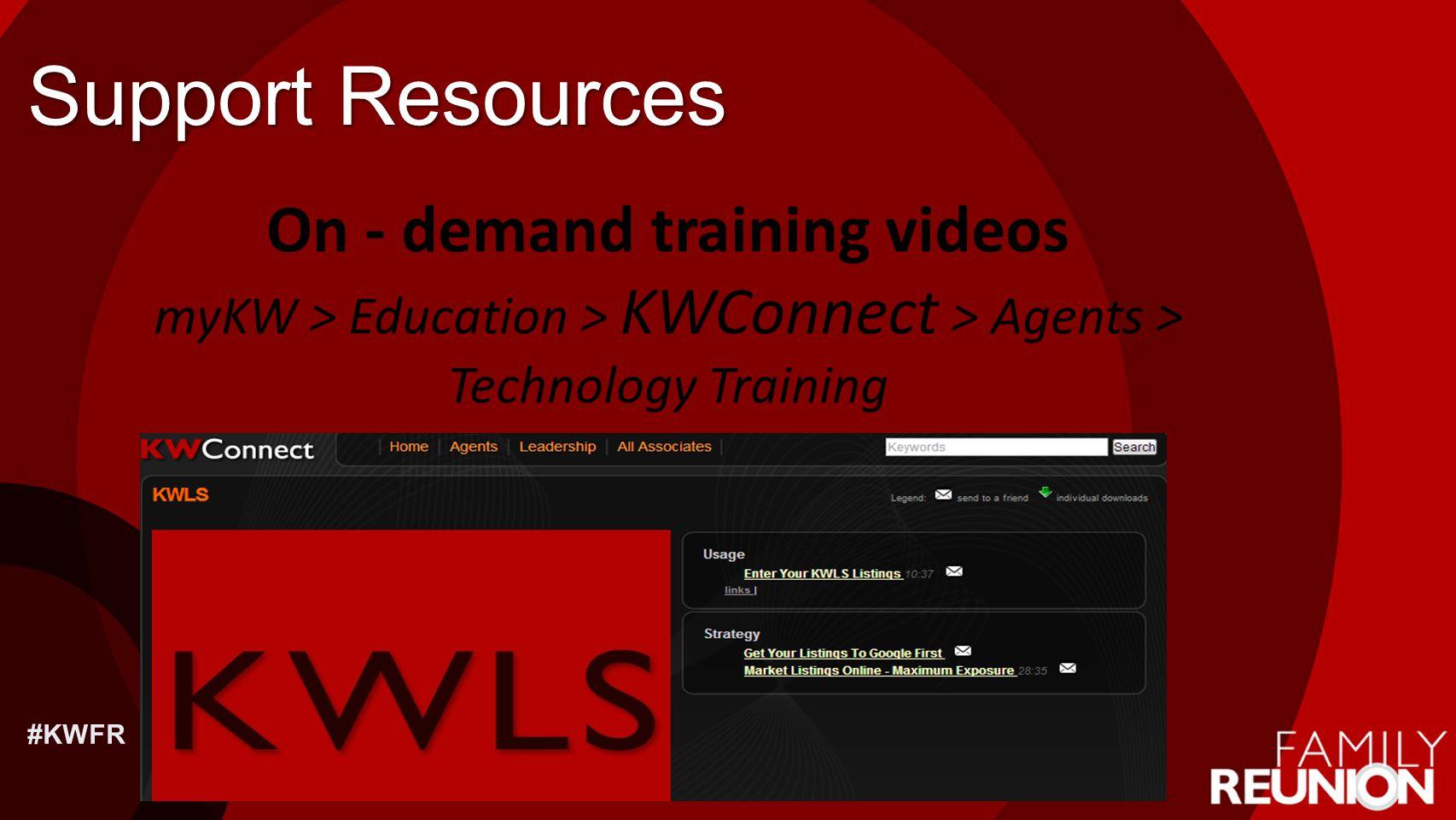 On - demand training videos