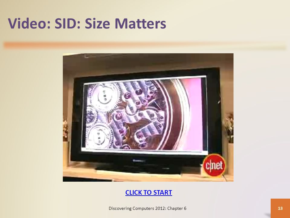 Video: SID: Size Matters