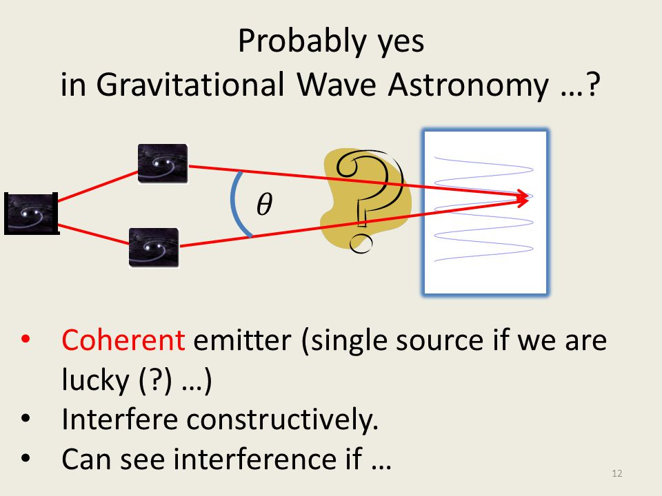 Probably yes in Gravitational Wave Astronomy …
