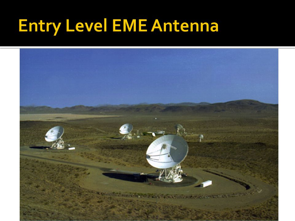 Entry Level EME Antenna