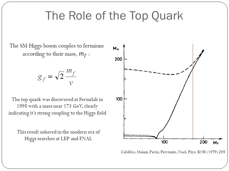 The Role of the Top Quark