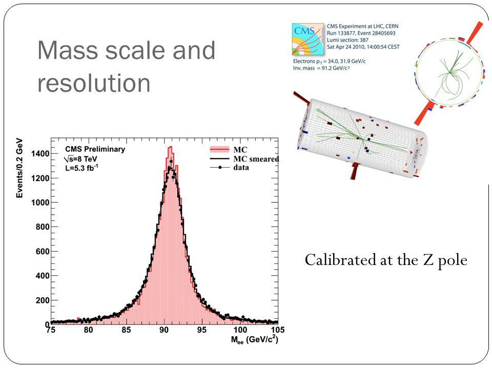 Mass scale and resolution