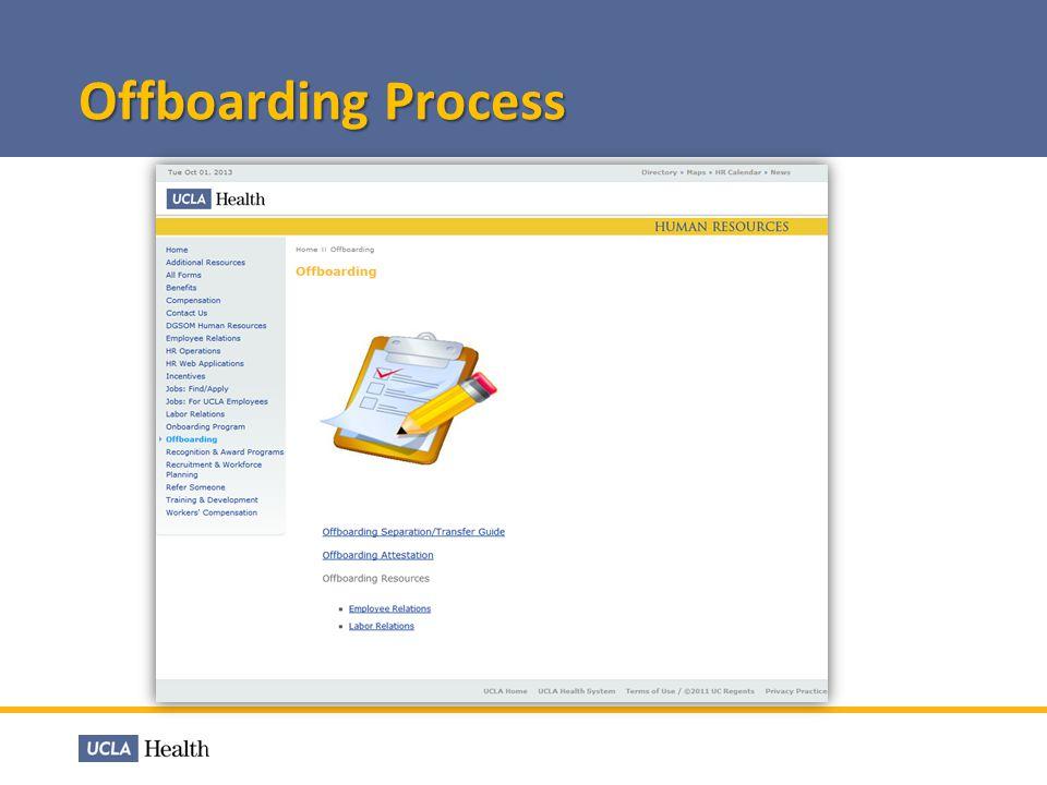 Offboarding Process