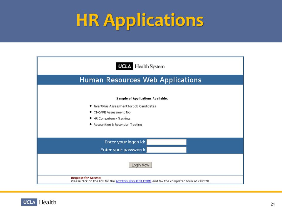 HR Applications