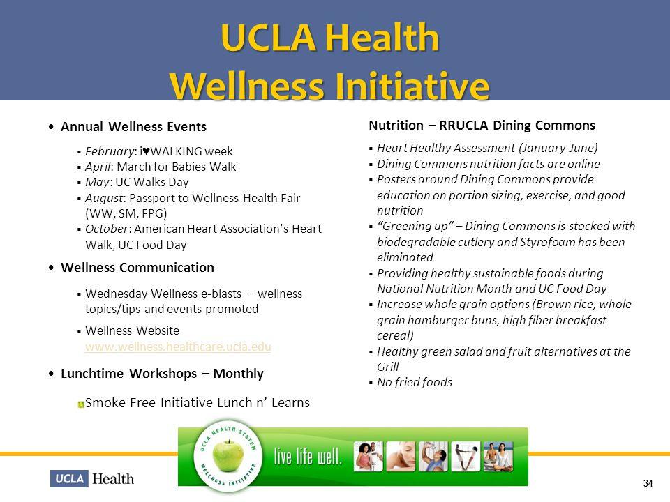 UCLA Health Wellness Initiative