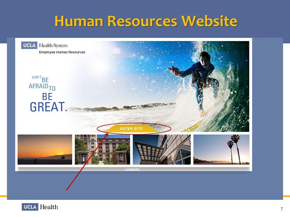 Human Resources Website