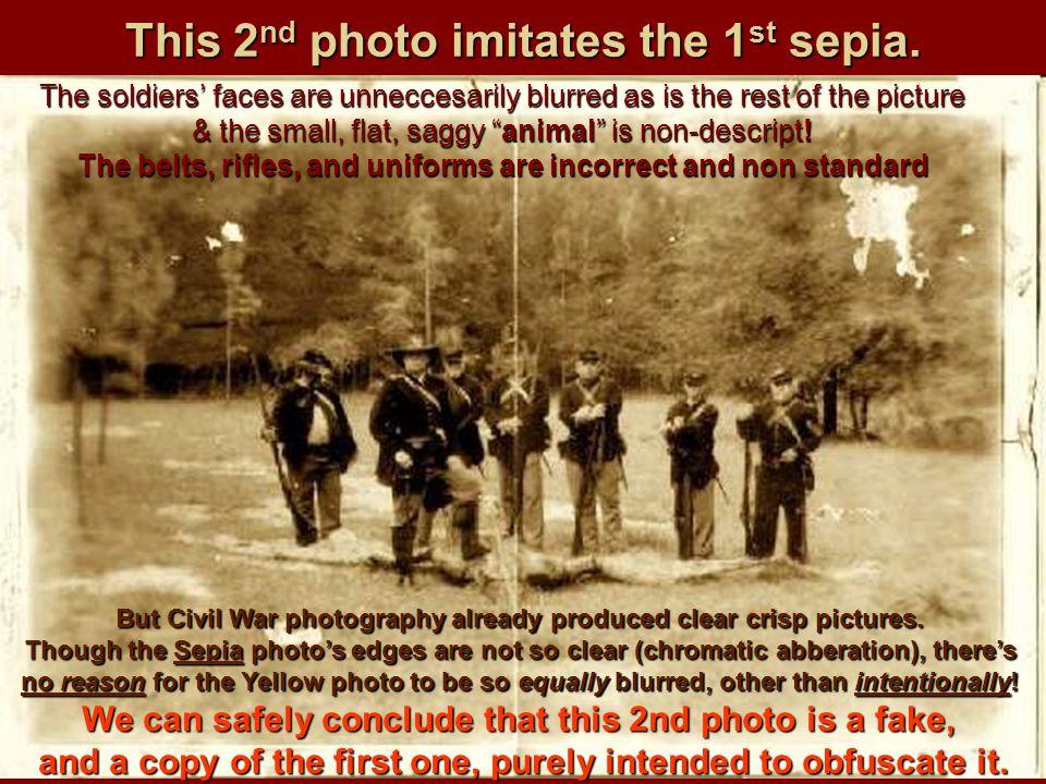 This 2nd photo imitates the 1st sepia.