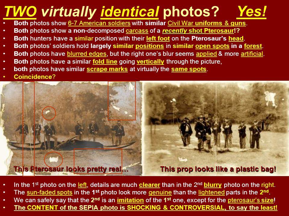 TWO virtually identical photos