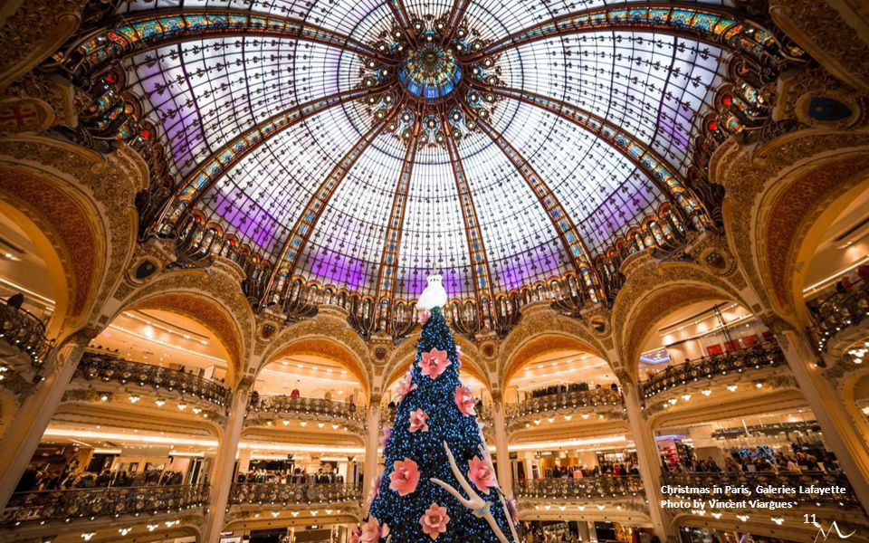Christmas in Paris, Galeries Lafayette