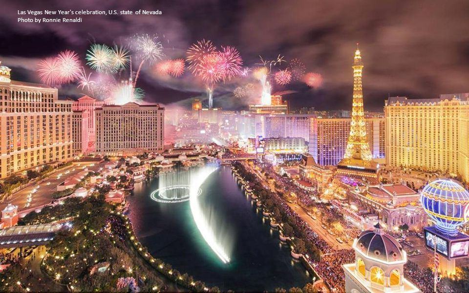Las Vegas New Year s celebration, U.S. state of Nevada