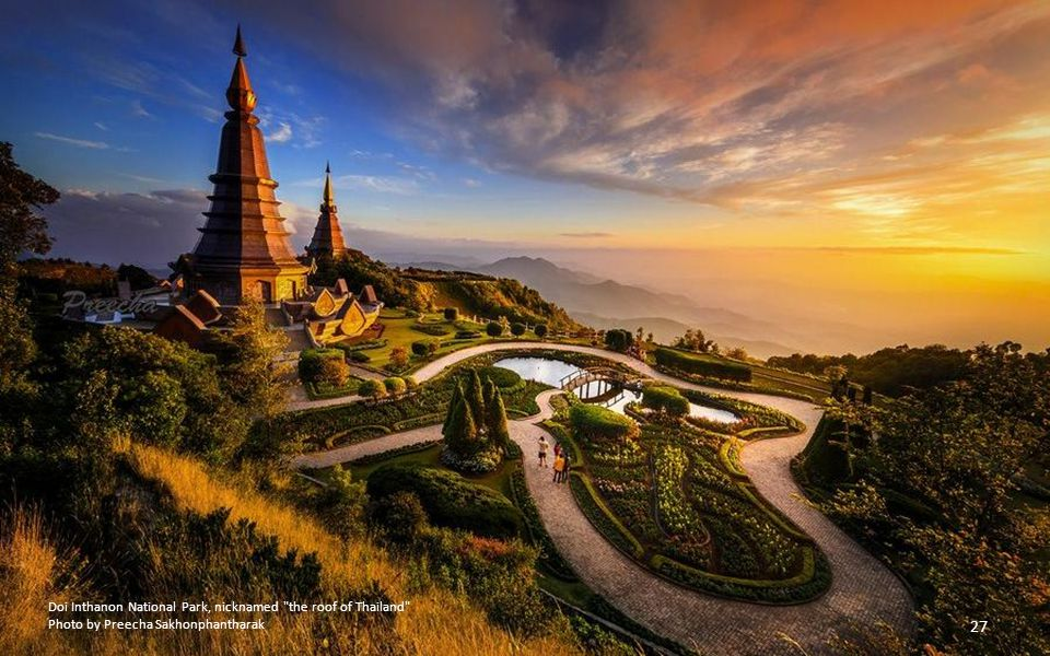 Doi Inthanon National Park, nicknamed the roof of Thailand