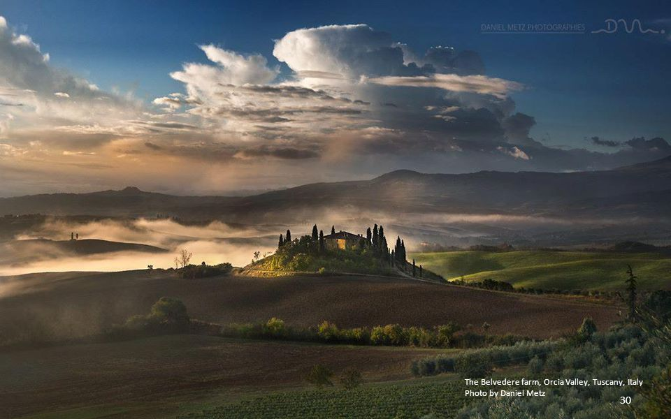 The Belvedere farm, Orcia Valley, Tuscany, Italy