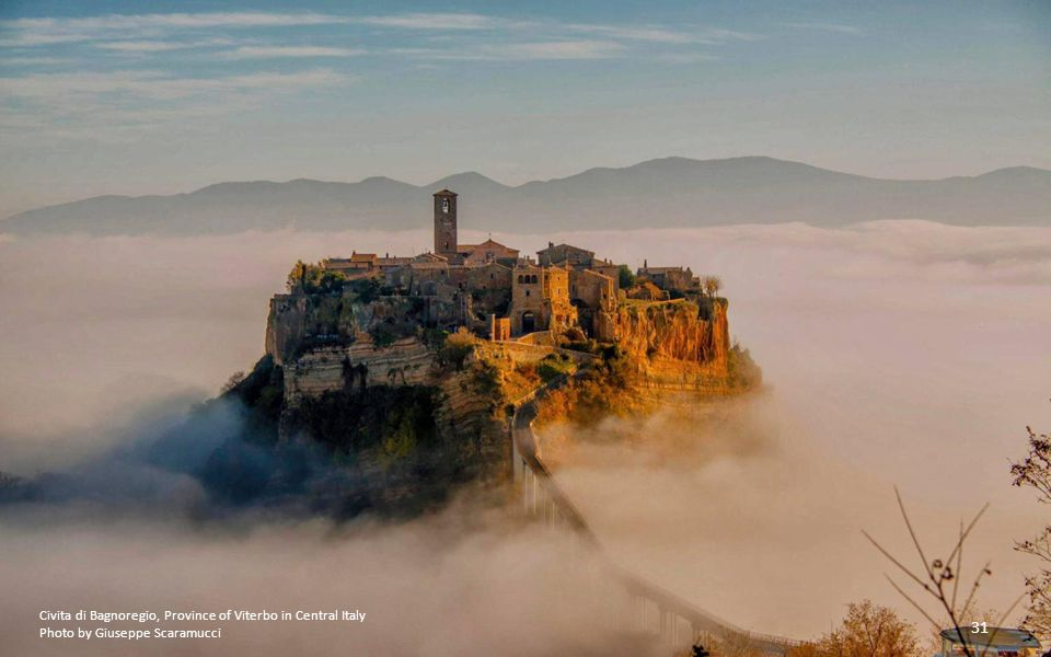 Civita di Bagnoregio, Province of Viterbo in Central Italy