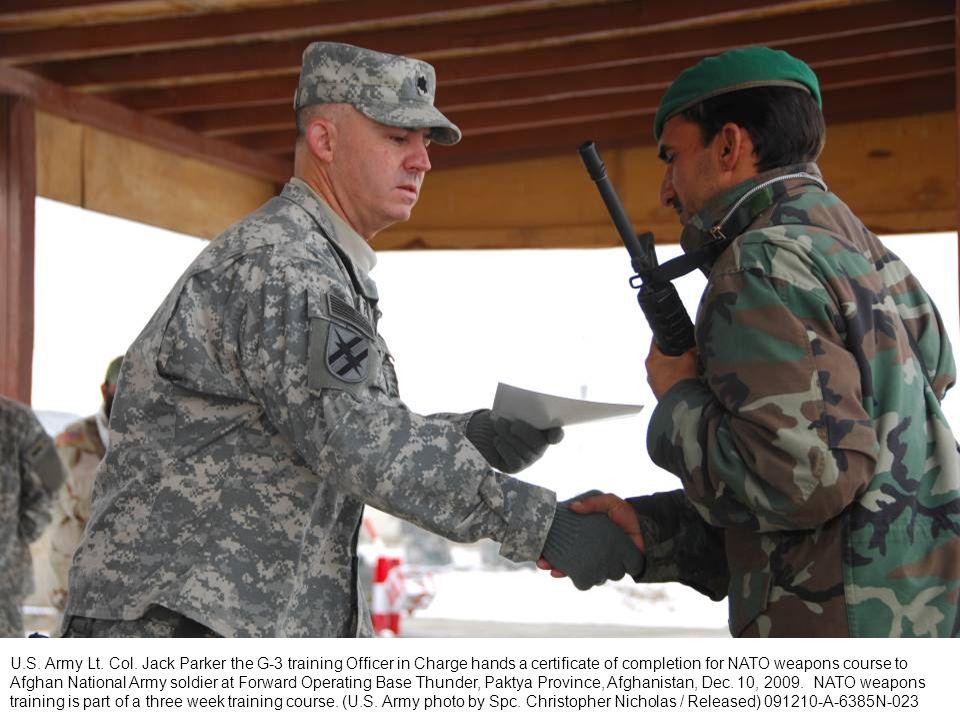 U.S. Army Lt. Col.