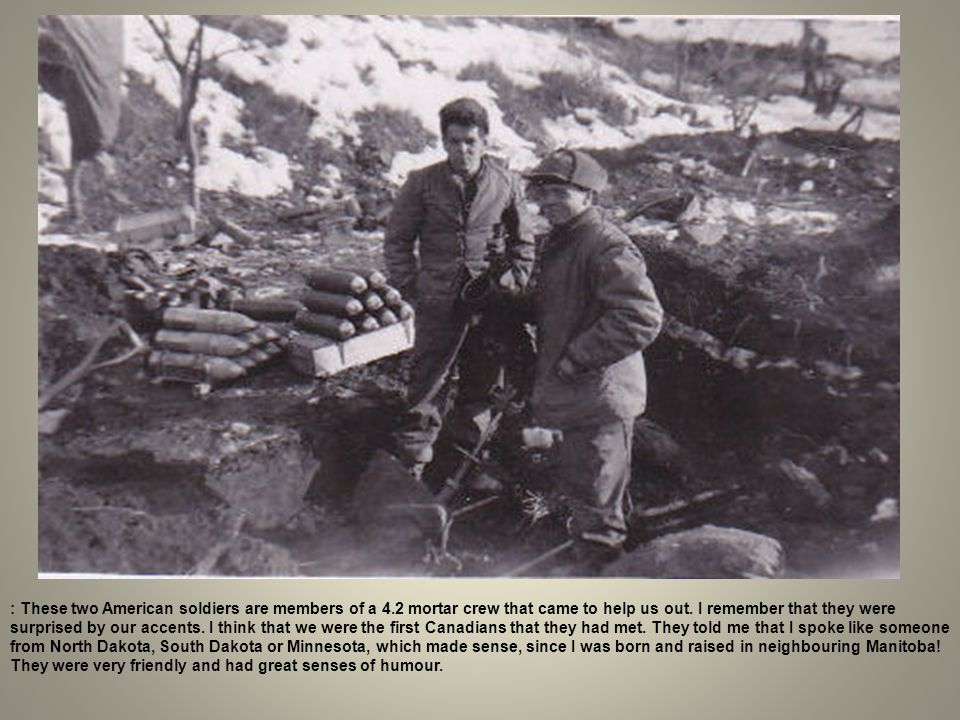 : These two American soldiers are members of a 4
