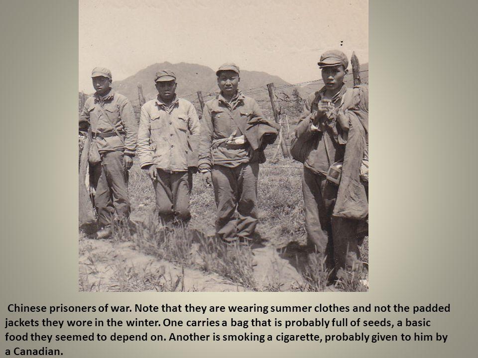 Chinese prisoners of war