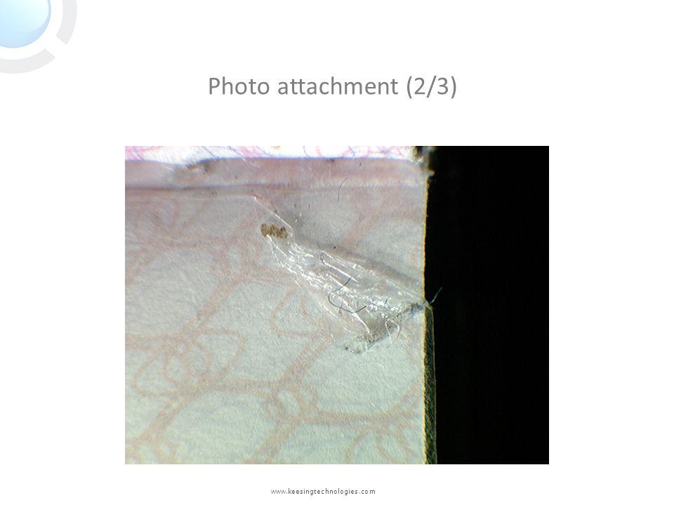 Photo attachment (2/3) www.keesingtechnologies.com